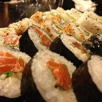 Photo taken at Sushibar + Wine by Ilkka L. on 3/17/2013
