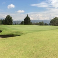 Photo taken at Arrayanes Country Club by Francisco D. on 6/25/2014