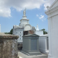 Photo taken at St. Louis Cemetery No. 1 by Rosaura O. on 6/21/2013