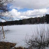Photo taken at Bābelītes ezers by Gatis K. on 4/9/2013