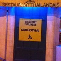 Photo taken at Sukhothai by Vincent   วินเซ็นต์ V. on 2/18/2013