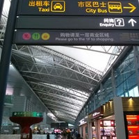 Photo taken at Guangzhou Baiyun Int'l Airport (CAN) by Yongmin L. on 3/1/2013