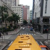 Photo taken at Setor Histórico De Curitiba by Samuel V. on 4/13/2013