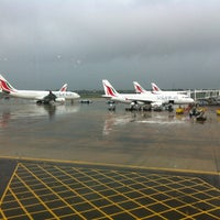 Photo taken at Bandaranaike Int'l Airport (CMB) by Kay B. on 10/17/2012