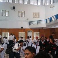 Photo taken at Sekolah Tinggi Ilmu Pelayaran (STIP) Marunda by Sony Frey S. on 7/2/2014