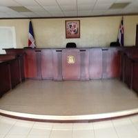 Photo taken at Palacio De Justicia San José de Ocoa by Jaime Eduardo G. on 7/23/2013