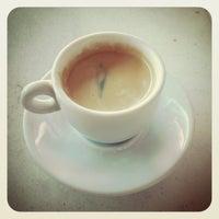 Photo taken at Fran's Café by Rafael N. on 11/8/2013