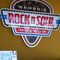 Photo taken at Rock'n'Soul Museum by Pedro T. on 3/20/2013