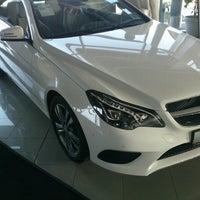 Photo taken at Mercedes-Benz by Abdlh on 10/22/2013