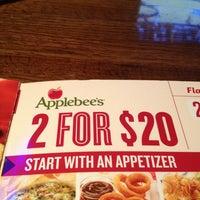 Photo taken at Applebee's by AARON R. on 3/1/2013
