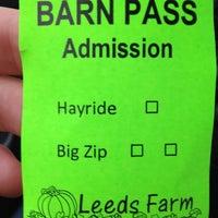 Photo taken at Leeds Farm by Josef S. on 10/14/2012