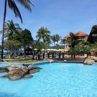 Photo taken at Sutera Harbour Resort by Min C. on 12/25/2012