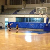Photo taken at Xavier School Wooden Court by Ariane Andres P. on 7/10/2013
