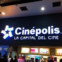 Photo taken at Cinépolis Multicentro by Pettrucci on 12/23/2012