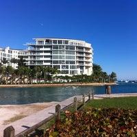 Photo taken at Boca Beach Club, A Waldorf Astoria Resort by Brett P. on 12/22/2012