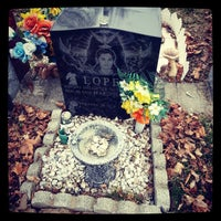 Photo taken at Lutheran-All Faiths Cemetery by Jose L. on 3/31/2013