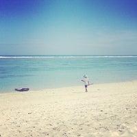 Photo taken at Pantai Pandawa (Pandawa Beach) by Hristina V. on 5/27/2014