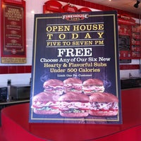 Photo taken at Firehouse Subs by Goldie on 2/18/2014