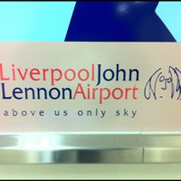 Photo taken at Liverpool John Lennon Airport (LPL) by Ilseop H. on 12/10/2012