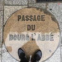Photo taken at Passage du Bourg-l'Abbé by Christophe O. on 9/19/2016