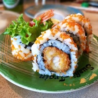 Photo taken at Sushi Train by The Very Hungry Katerpilla on 3/12/2013