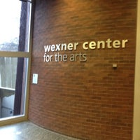 Photo taken at Wexner Center for the Arts by Jason C. on 12/8/2012