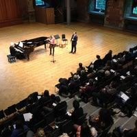 Photo taken at LSO St Luke's by London Symphony Orchestra on 2/14/2013