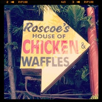 Photo taken at Roscoe's House of Chicken and Waffles by Rob H. on 5/24/2013