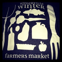 Photo taken at Somerville Winter Farmers Market by Kate Y. on 1/12/2013