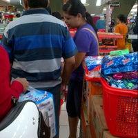 Photo taken at Ramayana Supermarket by Carlos N. on 3/23/2013