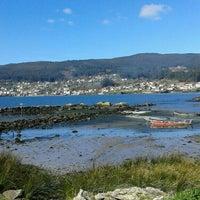 Photo taken at Praia de Campelo by Marga P. on 2/20/2016
