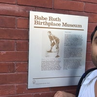 Photo taken at Babe Ruth Birthplace & Museum by Jason V. on 7/8/2016