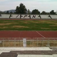 Photo taken at Estadio Wilfrido Massieu by mariana c. on 3/20/2013