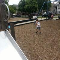 Photo taken at Mozart Park by Matt K. on 6/9/2013
