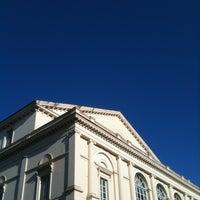 Photo taken at Piazza del Teatro (Piazza Verdi) by Alice Claire R. on 10/12/2013