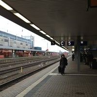 Photo taken at Saarbrücken Hauptbahnhof by Anna T. on 2/5/2013