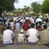 Photo taken at Masjid Raya Al-Musyawarah by Alponso P. on 10/25/2012