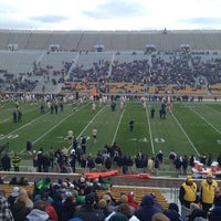 Photo taken at Notre Dame Stadium by Cara H. on 4/20/2013
