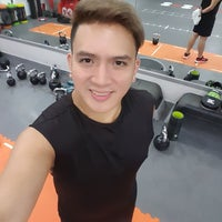 Photo taken at Fitness First by Richard 'chucky' C. on 8/12/2016