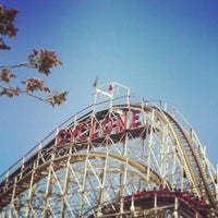 Photo taken at The Cyclone by Thomas S. on 5/27/2013