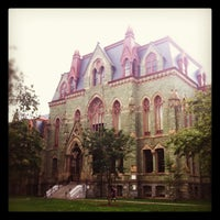Photo taken at University of Pennsylvania by Sookpichaya C. on 10/10/2012