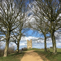 Photo taken at Broadway Tower by John C. on 4/5/2016