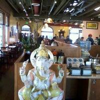 Photo taken at Lotus Cafe & Juice Bar by Mars T. on 11/24/2012