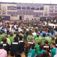 Photo taken at Nashua High School South by WayneNH on 3/29/2014