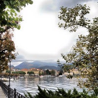 Photo taken at Lago di Lugano by Mariano H. on 10/13/2012