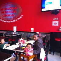 Photo taken at Muscle Maker Grill by Fredric S. on 10/7/2012