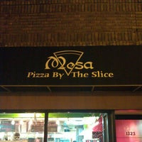 Photo taken at Mesa Pizza By The Slice by Matt W. on 11/25/2012