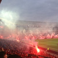Photo taken at Stadion Feijenoord by Jim v. on 4/5/2013