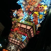 Photo taken at 立佞武多の館 by Kensuke K. on 8/7/2016
