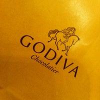 Photo taken at Godiva Chocolatier by Debbie on 1/26/2013
